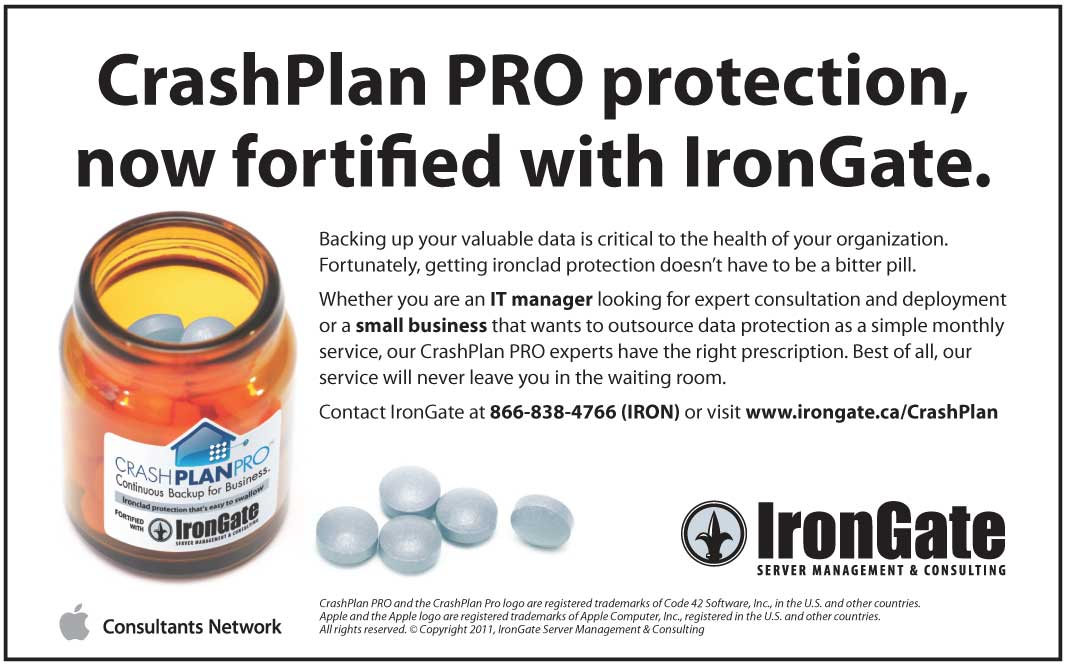 CrashPlan PRO protection, fortified with IronGate.